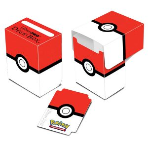 card box pokemon red white