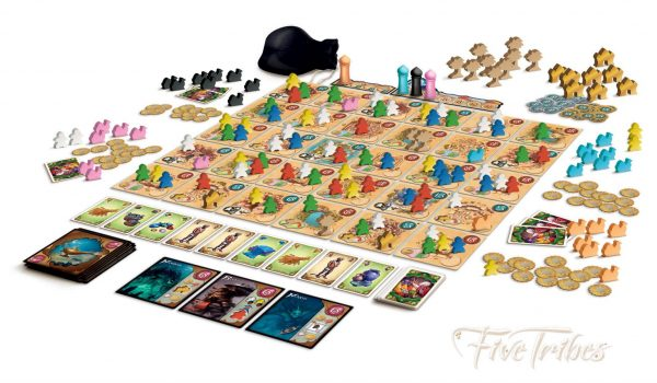 Five Tribes Components