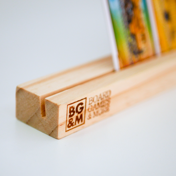 Wooden Card Holder