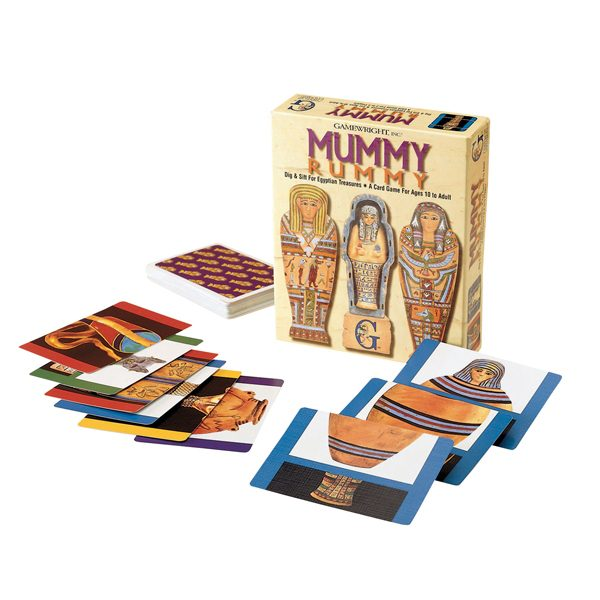 Mummy Rummy Components