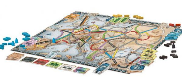 Ticket to Ride Europe Components